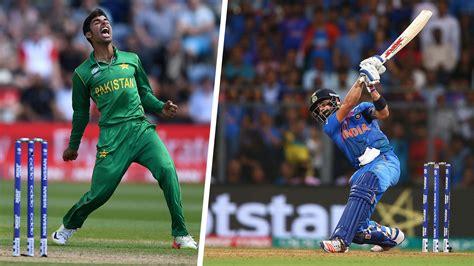 Live Cricket Score India Vs Pakistan Today Video