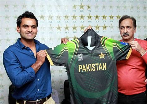 Pakistan Cricket Team Jersey For T20 World Cup 2014