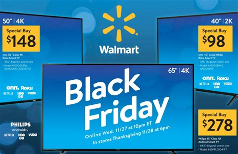 Walmart Black Friday Prices On Tv