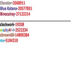 ROBLOX Decal ID List - server-kino ru