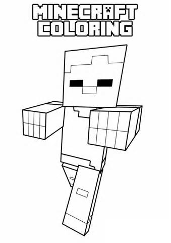 minecraft coloring pages, free free printable minecraft coloring pages ...