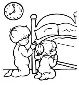 Children Praying Coloring Page | Clipart Panda - Free Clipart Images