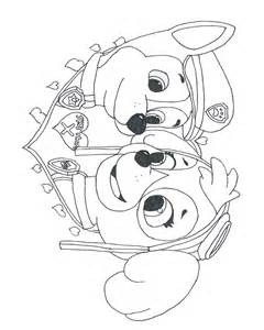 Coloring Pages of paw patrol everest by freecolo
