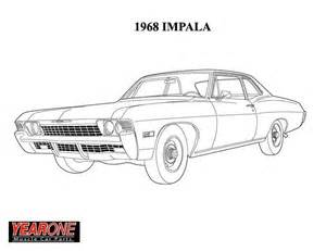 57 chevy colouring pages (page 3)