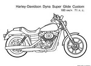 motorcycle coloring pages harley davidson motorcycle coloring pages to ...