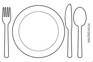 Place Setting – Plate, Fork, Knife, Spoon