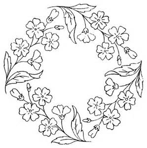 floral frames colouring pages (page 3)