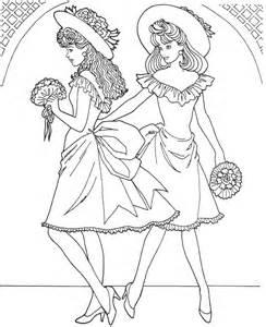 Printable fashion-model-coloring-page - Coloringpagebook.com