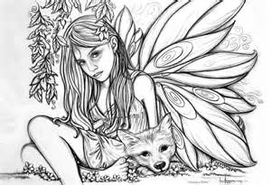 Fairy Coloring Pages For Adults Printable Coloring Sheet 185831 Fairy ...