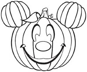 Cute Pumpkin Halloween Coloring Pages | Coloring