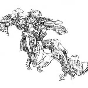 Bumblebee Car Before Transforming to Robot Coloring Pages
