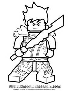 lego ninjago kai zx Colouring Pages