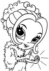 Girly Coloring Pages | Coloring Pages For Girls | Kids Coloring Pages ...