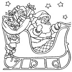 Coloring Pages, Santa Sleigh Printables . You can bookmark this page ...