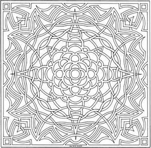 101 Ideas: 25. Mandala Coloring Pages