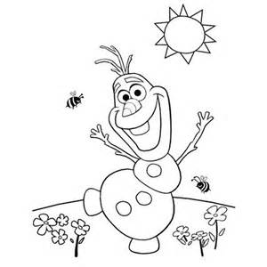 Frozen Olaf Coloring Pages Printable