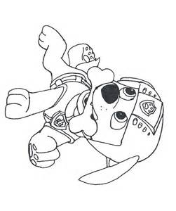 Coloring Page Paw Patrol – Printable Coloring