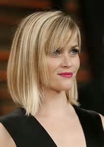 these abbreviate beeline hairstyles with bangs and get a new appealing