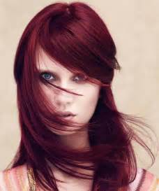 plum red hair color