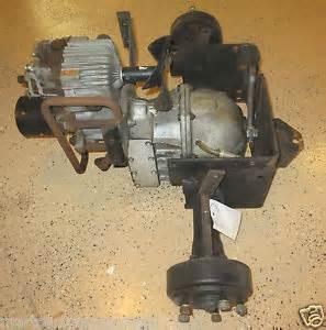 John Deere 300 312 314 316 317 Rear End Transmission Hyrdo Hydrostatic