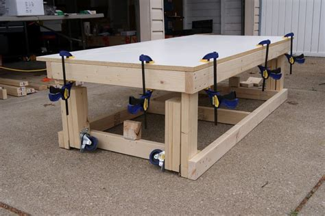 Build A Shed On Your Lot Best 8 Foot Workbench Plans