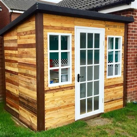 Building A Cheap Wooden Storage Shed Barn Birdhouses