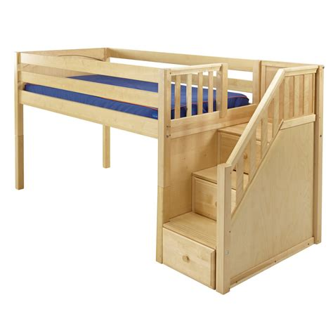 Bunk Bed Stairs With Drawers Plans 10 X 10 Wood