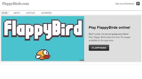 Flappy Bird flies again Where to play the game online