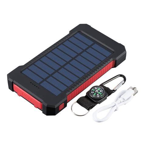 Folding Multi Battery Phone Charger Solar Power