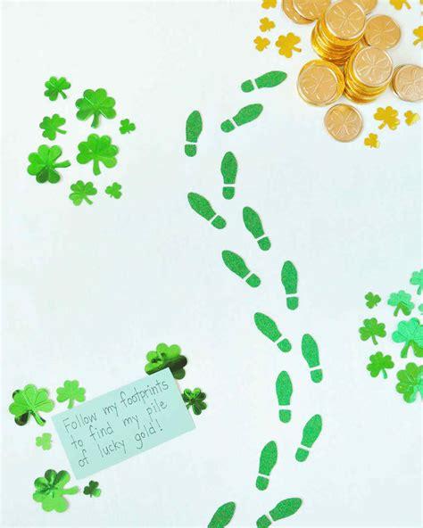 Follow the Leprechaun Trail Printable Craft Martha Stewart