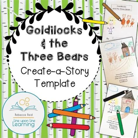 Goldilocks And The Three Bears Plan And Write The Story