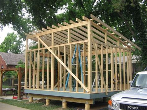 How To Build A 16x16 Shed Roof Garage Building A