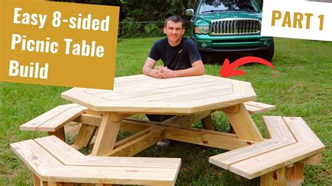 How To Build A Stem Wall Footing Octagon Picnic Table