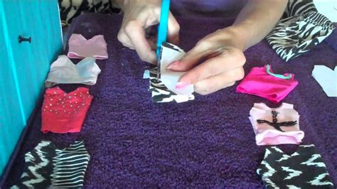 How to Make Barbie Doll Clothes Singlet Easy YouTube