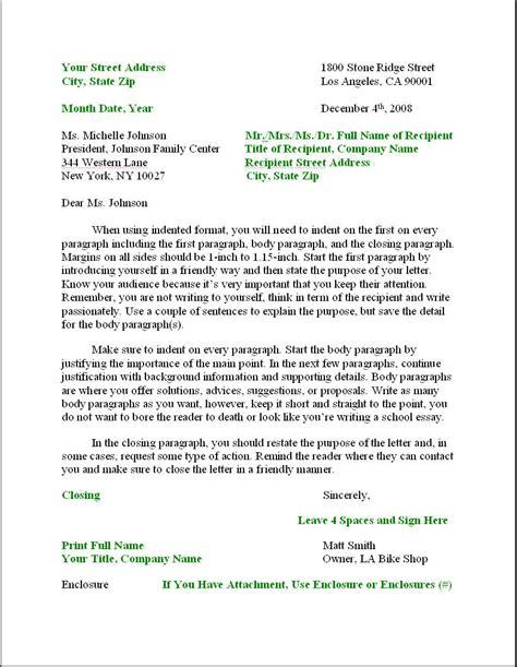 L R Business Letter Format Letter Resume