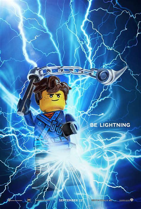 Lego Ninjago Movie posters show off individual ninja
