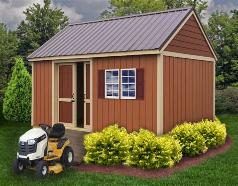 Metal Do It Yourself Storage Sheds Build A Shed