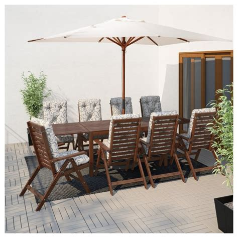 PPLAR Drop leaf table outdoor IKEA