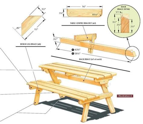 Shed Design Cad Free Plans For Convertible Bench
