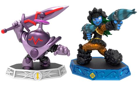 Skylanders Imaginators Wave 5 Tidepool and Blaster Tron