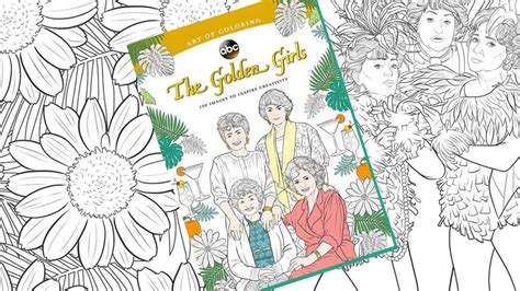 The Golden Girls Now in Coloring Book Form Mental Floss