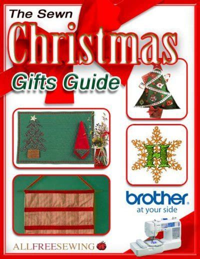The Sewn Christmas Gifts Guide eBook AllFreeSewing