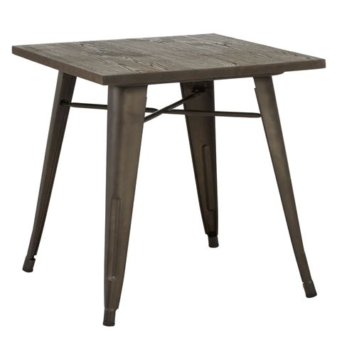 nspire Modus Dining Table Gunmetal 201 939 Modern