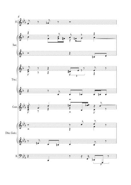 03 Teremoto Hambre  music sheet