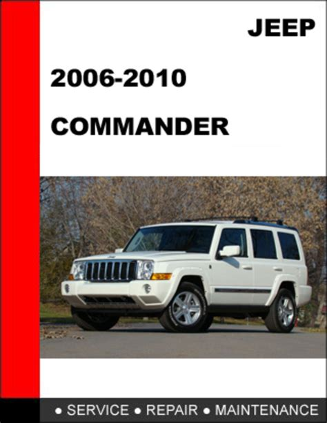 free download ebooks 06 Jeep Commander Service Manual.pdf