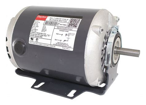 1 3 HP Belt Drive Motor Split Phase 1725 Nameplate RPM