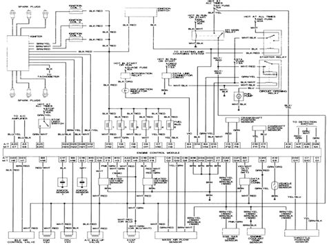 tracing back horn wiring to cab tacoma world images 1 toyota tacoma electrical wiring diagram