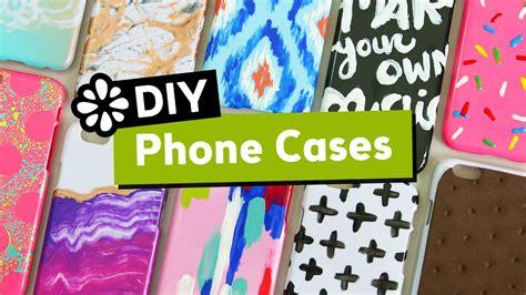 10 Cute Easy DIY Phone Cases Sea Lemon YouTube