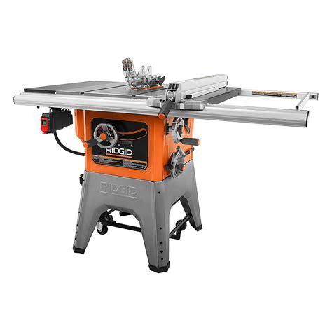 10 in Cast Iron Table Saw RIDGID Professional Tools