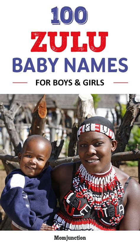 100 Unique Zulu Baby Names For Boys And Girls
